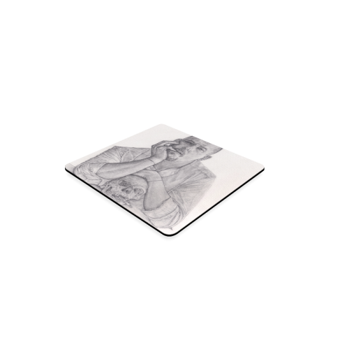 Alexander McQueen Drawing Square Coaster