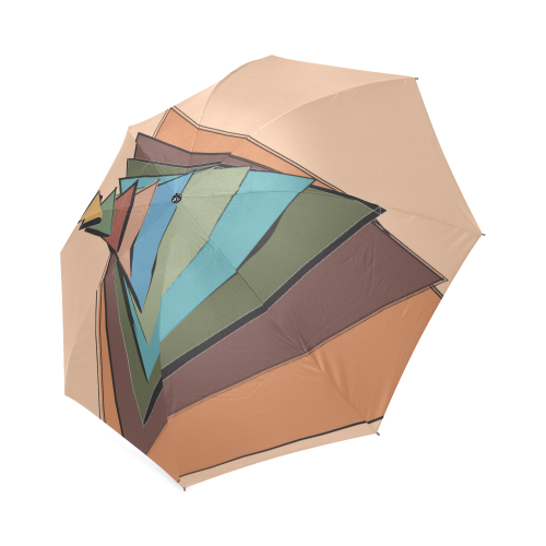 Trianglupagus Foldable Umbrella