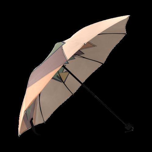Trianglupagus Foldable Umbrella (Model U01)