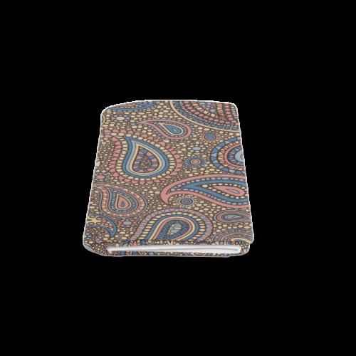 "yellow blue pink paisley mosaic pattern Blanket 50""x60"""