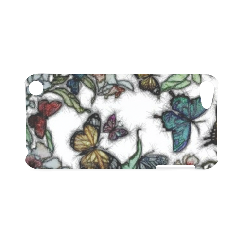 Butterflies and Flowers Hard Case for iPod Touch 5