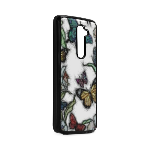 Butterflies and Flowers Hard Case for LG G2