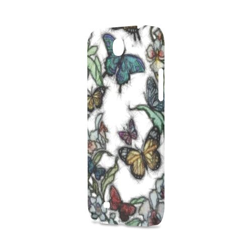 Butterflies and Flowers Hard Case for Samsung Galaxy Note 2