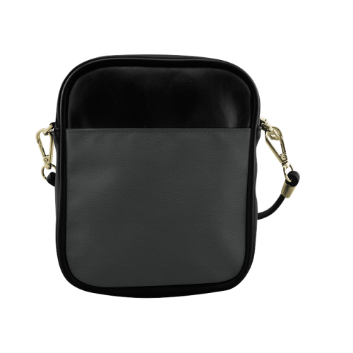Pirate Black Color Accent Sling Bag (Model 1627)