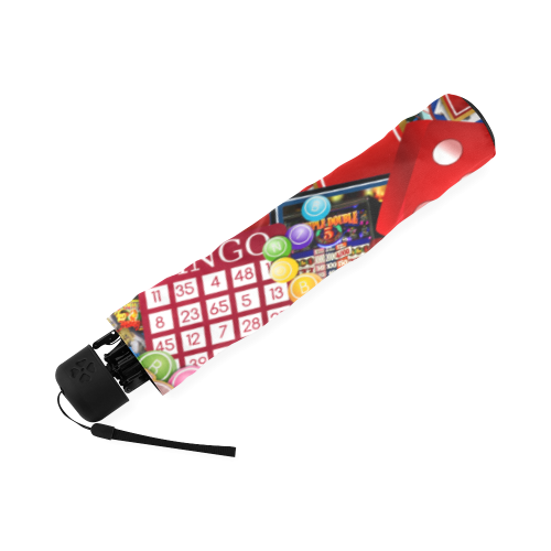 Las Vegas Icons - Gamblers Delight Foldable Umbrella (Model U01)