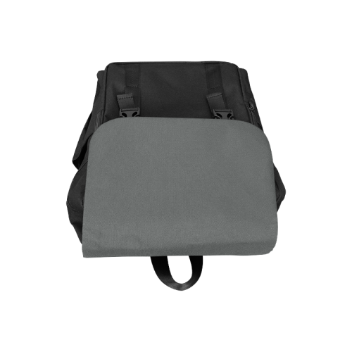Pirate Black Color Accent Casual Shoulders Backpack (Model 1623)
