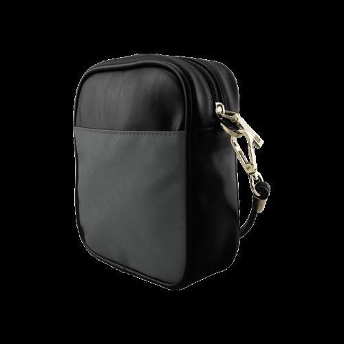 Pirate Black Color Accent Sling Bag (Model 1627)