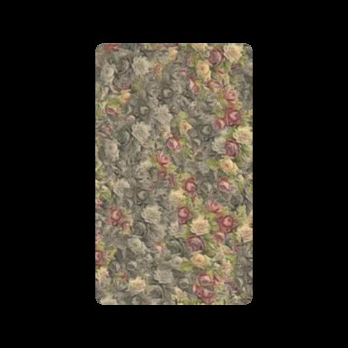 "Vintage Gothic Rose Doormat 30""x18"""