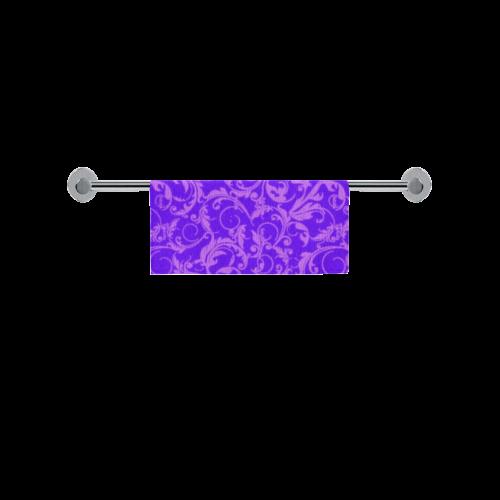 "Vintage Swirls Amethyst Ultraviolet Purple Square Towel 13""x13"""