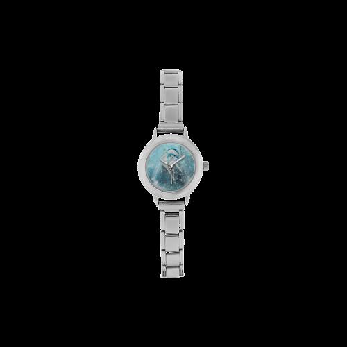 Snowflake Unicorn Women's Italian Charm Watch(Model 107)