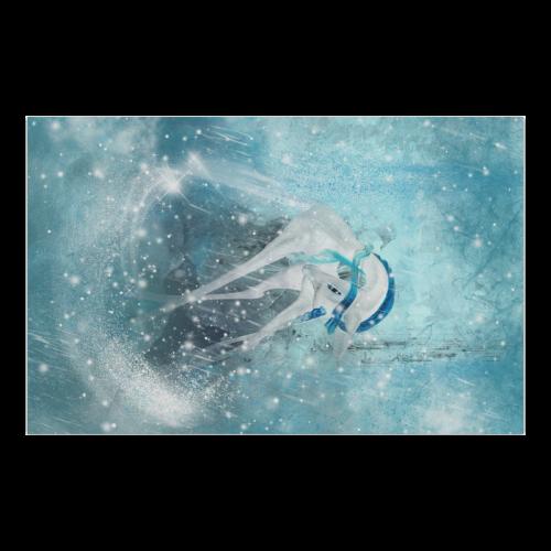 "Snowflake Unicorn Poster 23""x36"""