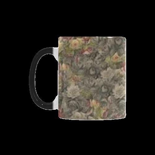 Vintage Gothic Rose Custom Morphing Mug