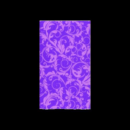 "Vintage Swirls Amethyst Ultraviolet Purple Custom Towel 16""x28"""