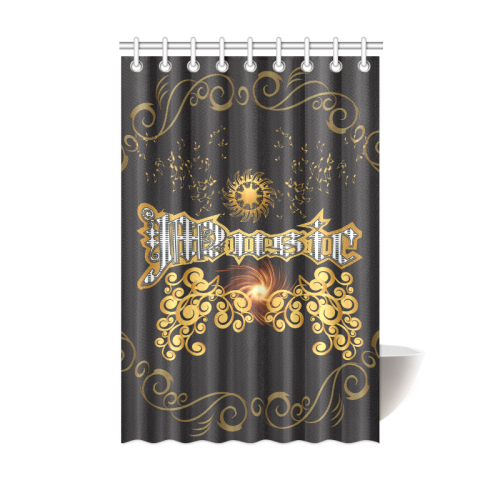 Music The Word Shower Curtain 48 X72 Id D156128