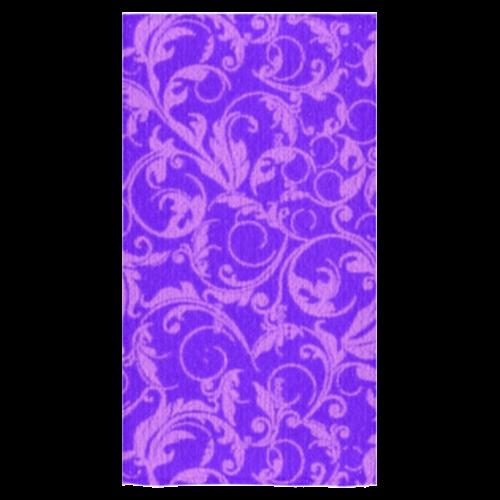 "Vintage Swirls Amethyst Ultraviolet Purple Bath Towel 30""x56"""