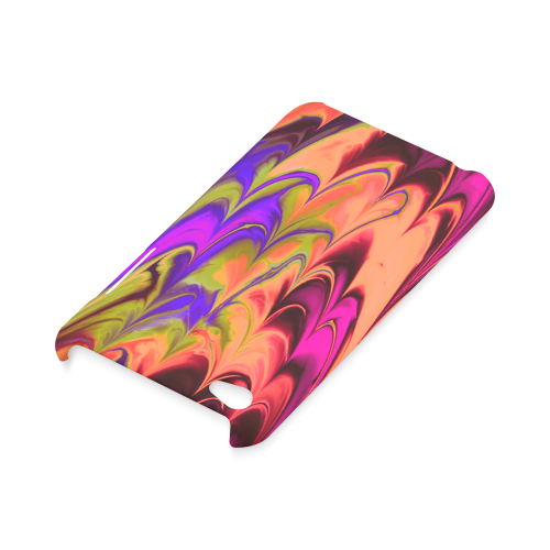 awesome fractal marbled 14 Hard Case for iPod Touch 4