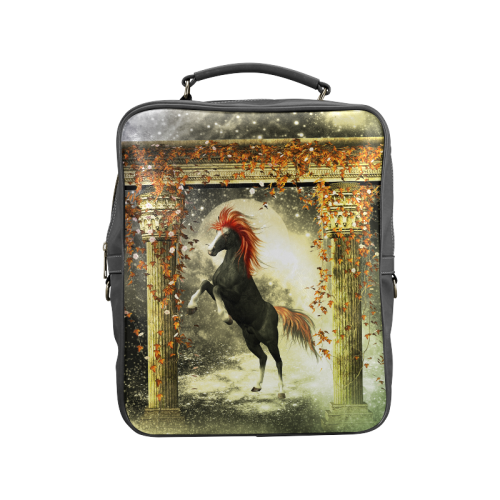 Awesome horse Square Backpack (Model 1618)