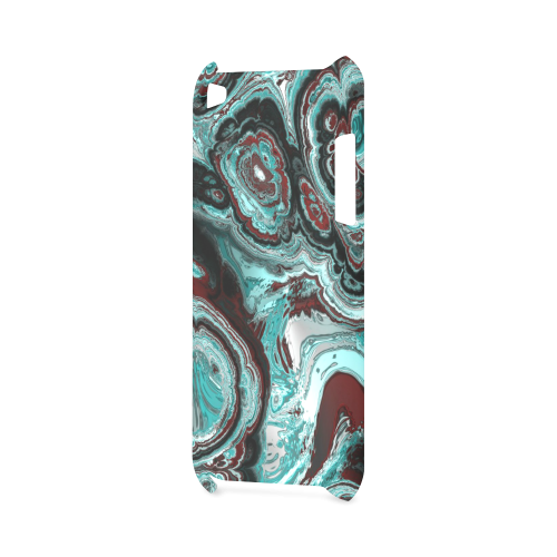 Awesome fractal marbled 05 Hard Case for iPod Touch 4