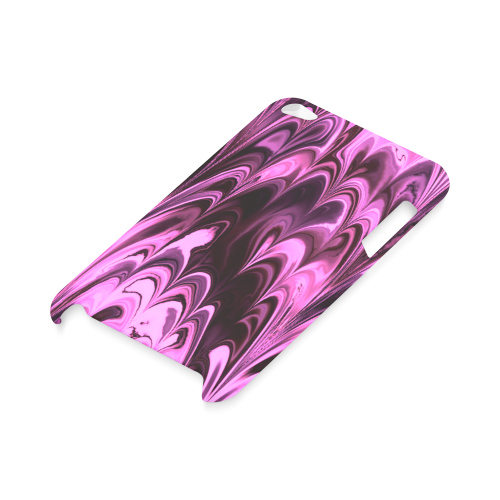 awesome fractal marbled 15 Hard Case for iPod Touch 4