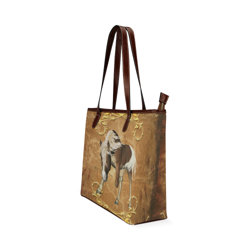 Wonderful horse Shoulder Tote Bag (Model 1646)