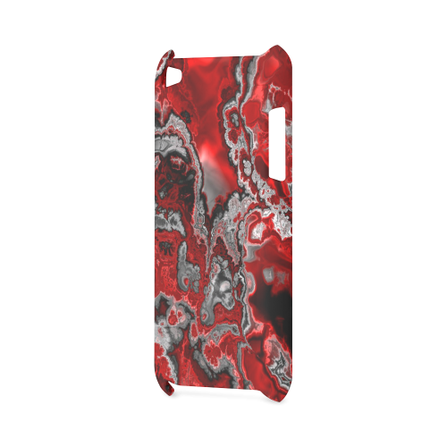 awesome fractal marbled 07 Hard Case for iPod Touch 4