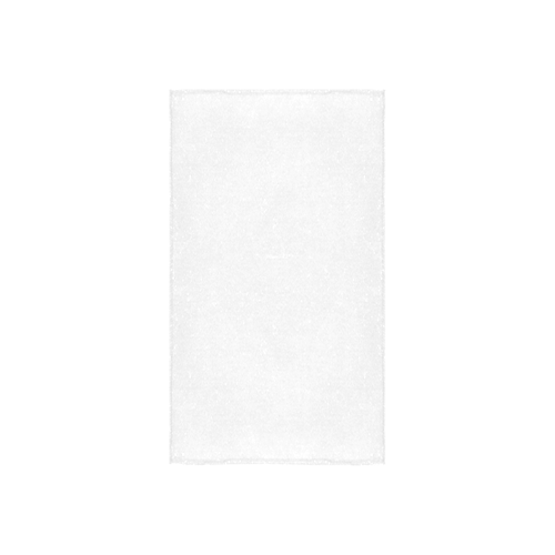 "orange and white classic chevron pattern Custom Towel 16""x28"""