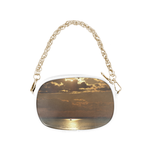 Awesome Sea Scene Chain Purse (Model 1626)