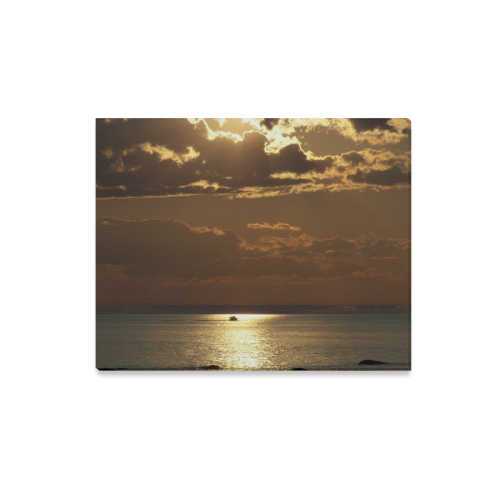 "Awesome Sea Scene Canvas Print 20""x16"""