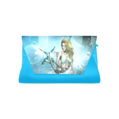 Wonderful mermaid Clutch Bag (Model 1630)