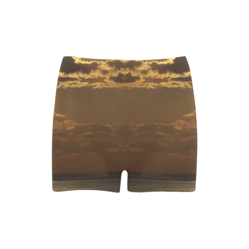 Awesome Sea Scene Briseis Skinny Shorts (Model L04)