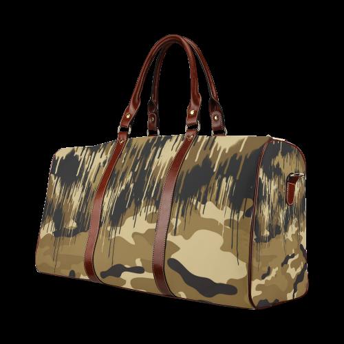 CAMOUFLAGE II Waterproof Travel Bag/Small (Model 1639)