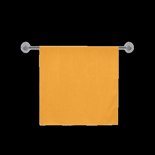 "Radiant Yellow Color Accent Bath Towel 30""x56"""