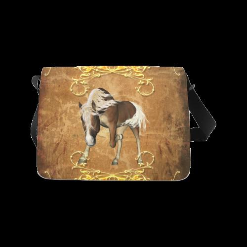 Wonderful horse Messenger Bag (Model 1628)