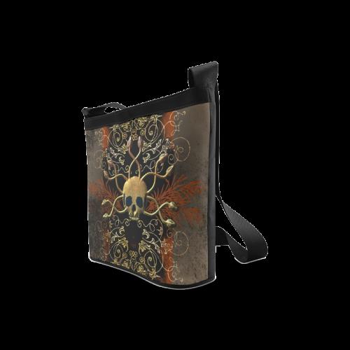 Amazing skull Crossbody Bags (Model 1613)