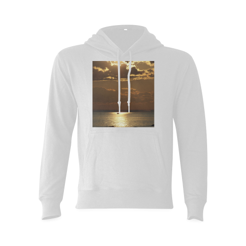 Awesome Sea Scene Gildan Hoodie Sweatshirt (Model H03)