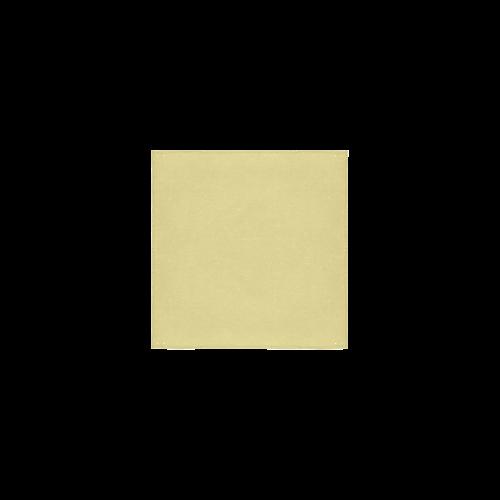 "Custard Color Accent Square Towel 13""x13"""