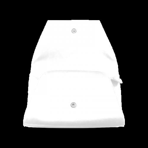 Cool Black Color Accent Clutch Bag (Model 1630)
