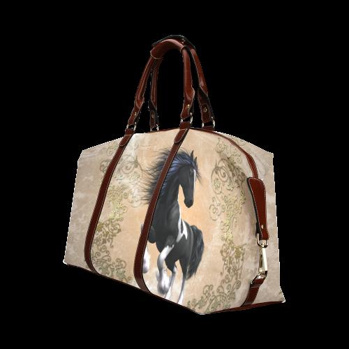 Wonderful horse Classic Travel Bag (Model 1643)