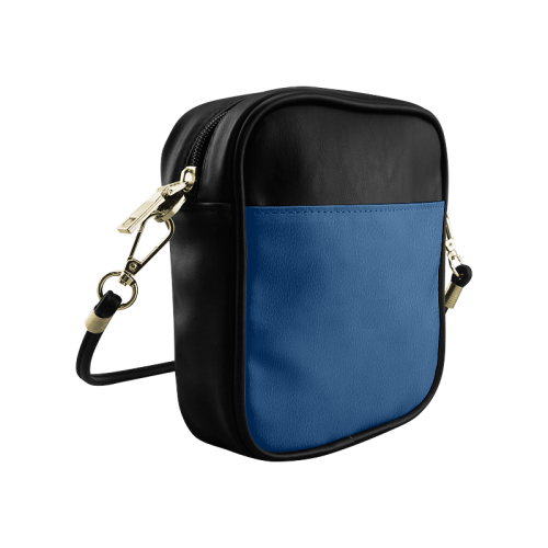 Cool Black Color Accent Sling Bag (Model 1627)