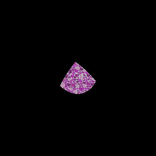 sparkling hearts purple Custom Bikini Swimsuit