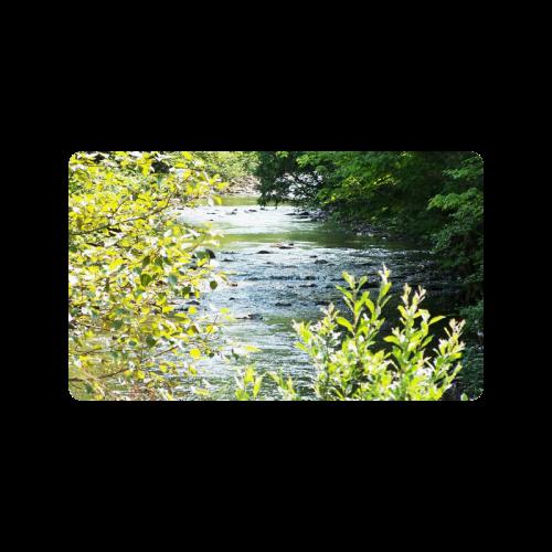"""River Runs Through It Doormat 30""""x18"""""""