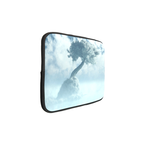 """Frozen Tree at the lake Custom Sleeve for Laptop 15.6"""""""