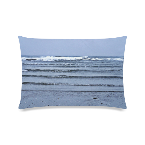 "Stairway to the Sea Custom Zippered Pillow Case 16""x24""(Twin Sides)"