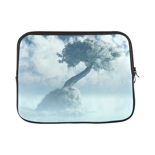 Frozen Tree at the lake Laptop Sleeve 11''