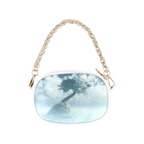 Frozen Tree at the lake Chain Purse (Model 1626)