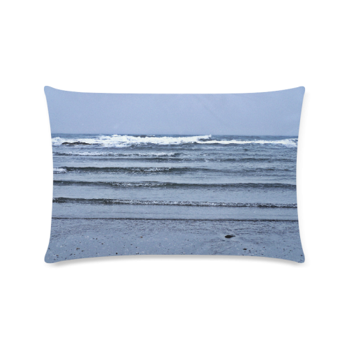 """Stairway to the Sea Custom Zippered Pillow Cases 16""""x24""""(Twin Sides)"""