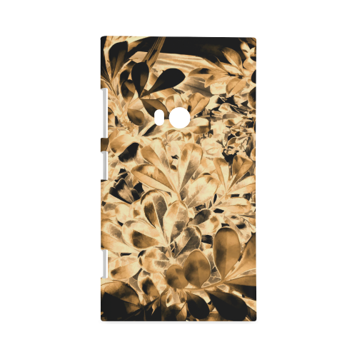 Foliage #2 Gold - Jera Nour Hard Case for Nokia Lumia 920