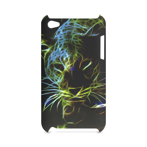 Neon Leopard Hard Case for iPod Touch 4