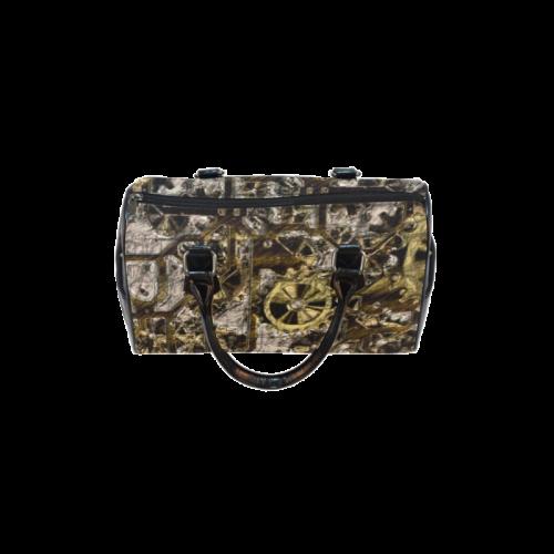 Metal Steampunk Boston Handbag (Model 1621)