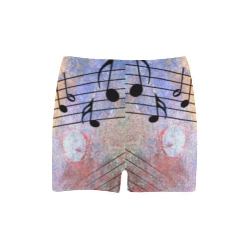 abstract music Briseis Skinny Shorts (Model L04)